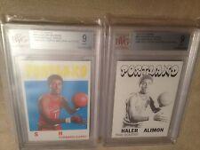 1971 Topps #89 Shaler Halimon BVG 9 MINT Proof Card Set (2) w/COA
