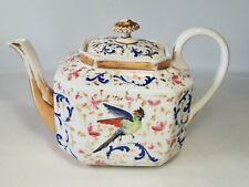 ☕ ancienne verseuse en porcelaine décor d'un oiseaux vieux paris ? à identifier