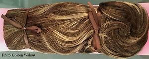 Jessica Simpson GOLDEN WALNUT Hairdo Clip In Hair Extensions R8/25