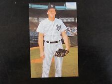 1985 Tcma New York Yankees Joe Cowley Postcard