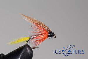 ICE FLIES. Wet flies. Dunkeld. Pick a size (4-pack)