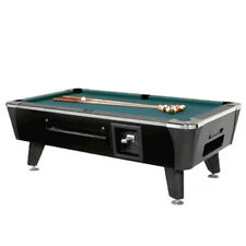 Dynamo Billiards Sedona Pool Table - Coin Op - Black - 7'