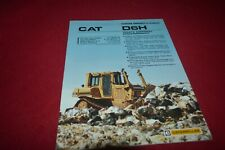 Caterpillar D6H Waste Disposal Arrangemen Crawler Dozer Tractor Brochure DCPA14
