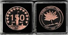 2017 CANADA 150 LOGO Golden Bronze Medal: Strong, Proud, Free - SALE 10%