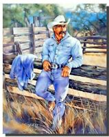 Mexican Cowboy Old West Wall Decor Art Print Poster (16x20)