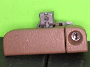03-08 Honda Pilot - Glove Box Latch Lock Handle Tan OEM With Key Brown