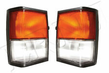LAND ROVER RANGE ROVER CLASSIC 87-92 FRONT SIDE & FLASHER LIGHTS GENUINE SET
