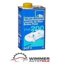 1x 1 Liter Original ATE TYP 200 DOT 4 Bremsflüssigkeit 1L – Brake Fluid 1000 ml