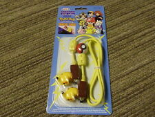 Pokemon PIKACHU NINTENDO GAMEBOY COLOR POCKET 2 Reproductor De Plomo Cable De Enlace! nuevo!