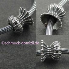 TROLLBEADS Silber Stopper Spacer Hüter des Lebens / Capsule of Life TAGBE-30138