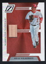 BRAD WILKERSON 2005 ZENITH NATIONALS RELIC GAME USED BAT SP $15