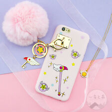 Lovely Sailor Moon With 3d Doll Strap TPU Soft Case Cover for iPhone 6 6s Plus