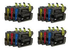 16 Cartouches D'Encre Compatible avec Brother DCP-350C DCP540C DCP560CN MFC235C