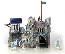 Round Tower Building War Games Terrain Landscape Scenery Cardboard Model Kit