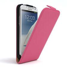 Tasche für Samsung Galaxy Note 2 Flip Case Schutz Hülle Cover Pink