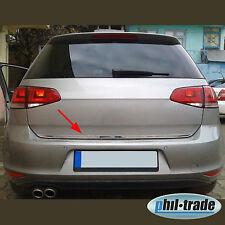 VW Golf 7 VII Limo Chrom Heckleiste aus Edelstahl Kofferraum Leiste 3 und 5 trg