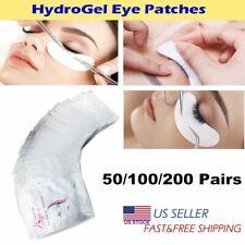 50-400Pcs Eye Pads Eyelash Pad Gel Patch Lint Free Lashes Extension Mask Eyepads