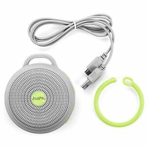 Hushh Portable White Noise Machine for Baby | 3 Soothing Natural  3.7 ounces