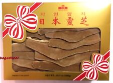 10.5 oz ROYAL KING, JAPAN LINGZHI REISHI MUSHROOM SLICES DRIED GANODERMA LUCIDUM