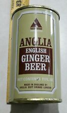 Vintage Anglia English Ginger Beer Ft Bottom Opened Can
