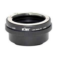 KiwiCamera Mount Adapter - for Nikon G to Fuji X