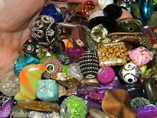 NEW 30 Jesse James Beads LOT RANDOM Mixed BIG BOLD Beautiful Beads 6-20mm