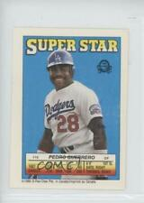 1988 Super Star Sticker Backs Pedro Guerrero Keith Hernandez Jesse Barfield