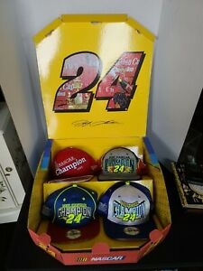 New Era Super Rare NASCAR The Jeff Gordon Champion Collection Snapback Cap Box