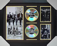 THE BEATLES SIGNED MEMORABILIA FRAMED 2 CD LIMITED EDITION V3 #C