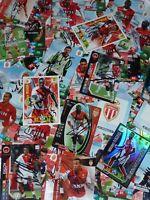 Carte Adrenalyn AS MONACO FC asm signée JOUEURS différentes années ultras foot
