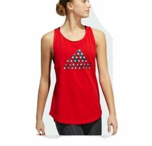 ADIDAS Women`s Tank top Big Logo Americana Top