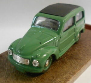 Brumm 1/43 Scale Metal Model - R29 FIAT 500C BELVEDERE HP 16.5 1951-1955