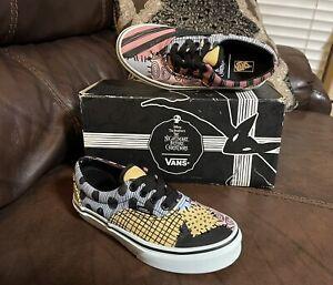 NIB VANS The Nightmare Before Christmas Sally Shoes Size 1 Kids
