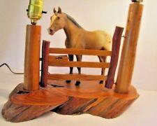 Breyer Appaloosa Horse Custom Made Vintage Table Lamp & Night Light