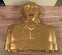 Kenner - Star Wars - C-3PO Action Figure Carrying Case w/ Lights/Sounds -1983