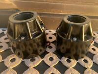 2 x Philips EL7050  AlNiCo horn  vintage driver speaker tweeter EL 7050