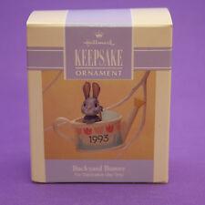 Hallmark Keepsake Ornament Easter 1993 BACKYARD BUNNY QEO8405 Watering Can
