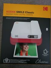 KODAK SMILE Classic INSTANT PRINT Digital Camera RED Stick BK Photos SEALD NIB