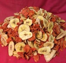 Dried Banana Chips Honey Dipped & Carrot Treat 500gm Treats Small Animals Rabbit