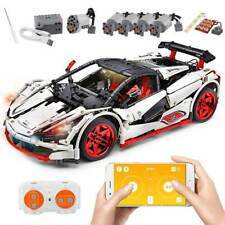 601PCS Creator Speed Racing Car Set,Building Blocks Kit Set;Adult Truck Model Toy for Boy