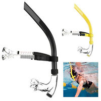 Swimming Aid Snorkel Swimmer Training Front Lap Tube Diving Mouthpiece For Pool