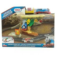 NEW Thomas & Friends Daring Derail Railway Tank Engine Train Set Trackmaster