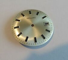 Watchmaker Dial Watch Curved Grey Dato Compatible Fe 140-1 Diameter