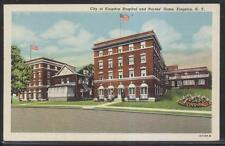 Postcard New York/NY  Kingston Hospital & Nurses Home 1930's