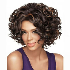 Fashion HAIR Black Synthetic Wig Long Curly Afro African American Wigs for Women