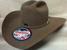 New American Hat Co. Tuscan 7X Beaver Fur Felt Cowboy Hat Western Rodeo Stetson
