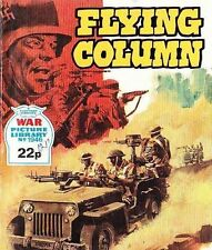 A Fleetway War Picture Library Pocket Comic Book Magazine #1946 FLYING COLUMN