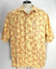 85899f6cc0e Columbia - Short Sleeve Shirt - Floral - Yellow Gold - Men s Size XL