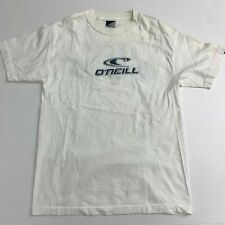 Vintage O'Neill Short Sleeve T Shirt Mens M White Graphic Crew Neck Casual