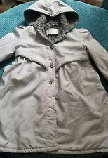 Fille 4-5 5 ans BHS automne hiver manteau gris